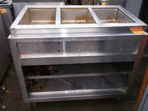 Steam Table – Three Well,  #775-14