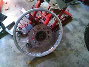 KLR 650 front wheel/rim with rotor