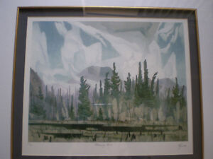 """Full Signature A.J. Casson-""""Morning Mist""""-Limited Edition Print Kitchener / Waterloo Kitchener Area image 3"""