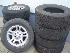 RIMS AND TIRES  SIZE P255/65R16