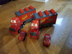 Méga Bloks Flash McQueen 4 modèles différents (5 kits en tout)