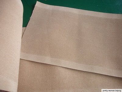 Gummiband Bandage Stützgürtel Orthese Meterware beige 24,3cm breit  V62