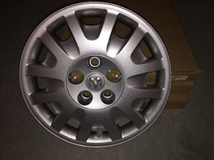 "3 New brand Original Wheel covers 16"" Couvre roues"