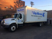T-BAY MOVERS    MOVING & STORAGE