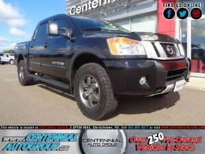 Nissan Titan Pro-4x | Crew Cab | 4x4 | Bluetooth | Side Rails  2