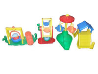 Vintage Fisher-Price Chunky Little People Playground