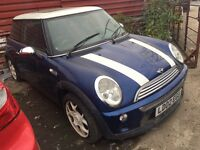 MINI COOPER AUTOMATIC HPI CLEAR SPARES OR REPAIRS