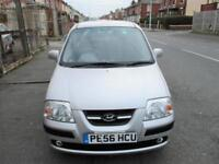 56 PLATE HYUNDAI AMICA 1.1 CDX FIVE DOOR HATCHBACK
