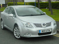 2011 11 Toyota Avensis 2.2 D-4D T Spirit 4dr WITH TOP SPEC+EVERY EXTRA+LOW MILES