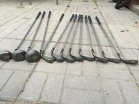 Complete set of ladies graphite golf clubs