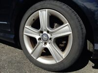 4 Original Mercedes Benz Rims with all season tires