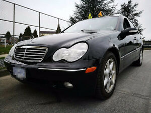 2003 Mercedes-Benz C320 local, new tires, clean title, one owner