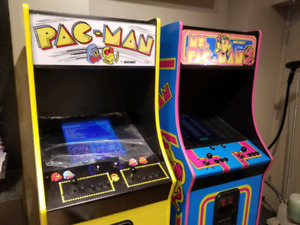 Ms pac and Pacman arcade Machines. $ 3200 each