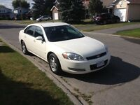 2007 Chevrolet Impala LT. With Safety and Etest. 3.9L. 165km.