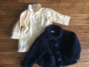 Girl size 2 and 2-3 T Coats