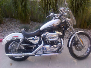 Last chance prior to storing for winter-1200 Sportster