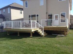 D.O.C.  Fences and Decks- taking spring bookings Edmonton Edmonton Area image 1