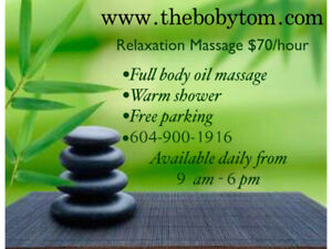 ((($70/hour))) Full Body Relaxation Massage by Asian Male
