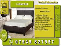 WOODEN Bunk Base and Mattess /Bedding
