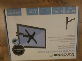 Sandstrom Easy Glide Cantilever TV