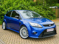 2010 59 Ford Focus 2.5 RS WITH LUX PACK 1+2 SATNAV/DYNAMICA SEATS & CP340