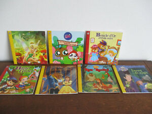 Collection  De 7  Livres  Disney  Junior