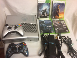Xbox 360 Halo Reach Edition Bundle 250gb Hard Drive, 43 Games