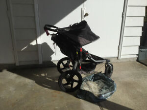 BOB Stroller (with adapter insert for baby car seat)