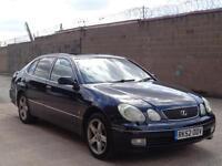 2002/52 LEXUS GS300 AUTOMATIC***LONG MOT + FULLY LOADED***