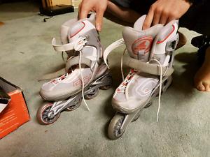 Men and women's rollerblades