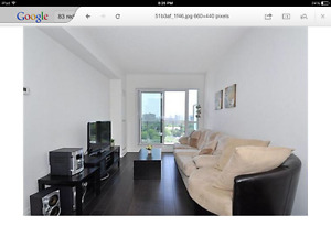 Yonge and Eglinton 1 Bdrm + Den Condo for Rent - Great View!