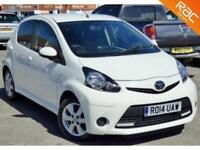 2014 14 TOYOTA AYGO 1.0 VVT-I MOVE WITH STYLE 5D 68 BHP 74MPG! £0 TAX! AIR CON!