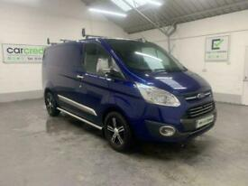 BLUE FORD TRANSIT CUSTOM 2.0 290 LIMITED LR P/V *BUY TODAY FROM £353 P/MONTH*