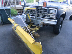 FORD 1980 TRUCK with FISHER PLOW