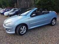 Peugeot 206 1.6 Coupe Cabriolet SE Lovely Condition With Service History