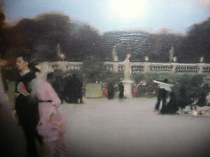 "Edouard Manet ""Moonlight on the Boulevard"" Textured Art Print Stratford Kitchener Area image 5"