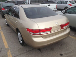 2005 Honda Accord Clean hw Km Sedan