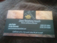 Handyman Services Jays finishing touch