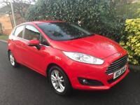 FORD FIESTA ZETEC 2014 Petrol Automatic in Red
