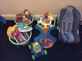 Car seat toys baby toys