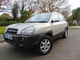 LOVELY 2005 AUTOMATIC HYUNDAI TUCSON 2.7 V6 CDX SERVICE HISTORY SUPERB VALUE