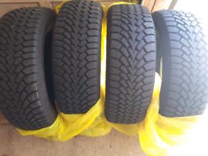 Goodyear Winter 245/55R19 Tires. DOT3217