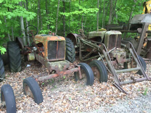 Allis Chalmers WD and WD 45 Tractors.