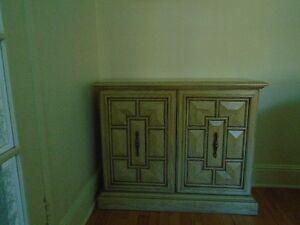 Cabinet---2 door with shelf