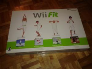 Wii fit avec son jeu