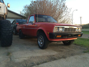 1986 Dodge d50 ready for a v8 swap