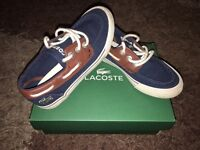 Boys Lacoste Deck Shoes (Lace Up) Infant Size 10