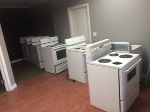 6 used stoves