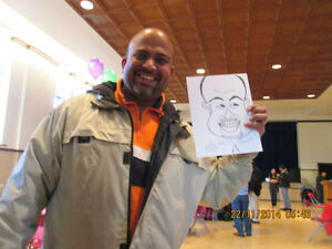 CARICATURE Artist Available for Parties and Events.. St. John's Newfoundland image 3