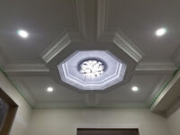 Crown Moulding,Wainscoting,Coffered Ceiling–Professional Install